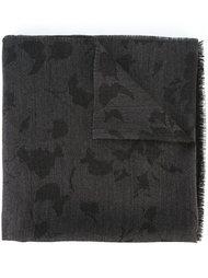 шарф необработанными краями Lanvin