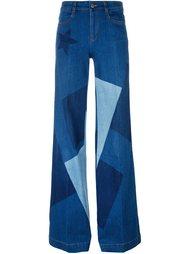 лоскутные джинсы  Stella McCartney