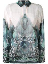 блузка с орнаментом Versace Collection