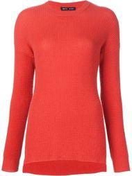 свитер в рубчик  Baja East