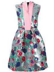жаккардовое платье  MSGM