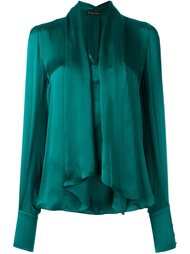 блузка с декоративным шарфом Plein Sud