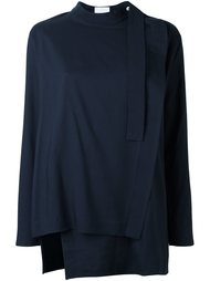 'Uzo' asymmetric blouse Reality Studio