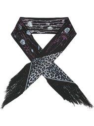 шарф с животным принтом Rockins