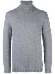 ribbed roll neck sweater Roberto Collina