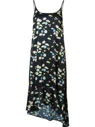 платье-комбинация с ромашками Paco Rabanne