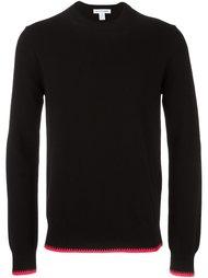 contrast trim crew neck sweater Comme Des Garçons Shirt