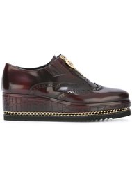 zipped brogues Loriblu