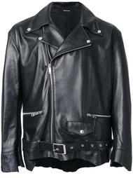 кожаная байкерская куртка Christian Dada