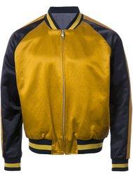куртка-бомбер с контрастными полосками Factotum