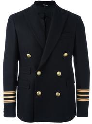 пиджак с полосками на рукавах Andrea Pompilio