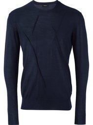 свитер с мятым эффектом Undercover