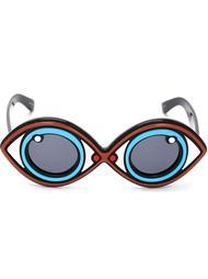 солнцезащитные очки 'Yazbukey 2' Linda Farrow Gallery