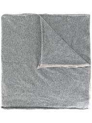 шарф с контрастной окантовкой  Brunello Cucinelli