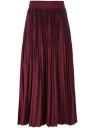 плиссированная юбка DKNY