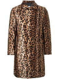 пальто с леопардовым принтом DressCamp