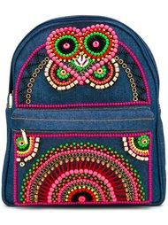 декорированный мини-рюкзак  Manish Arora