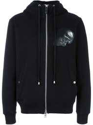 куртка с капюшоном и принтом черепа Cy Choi