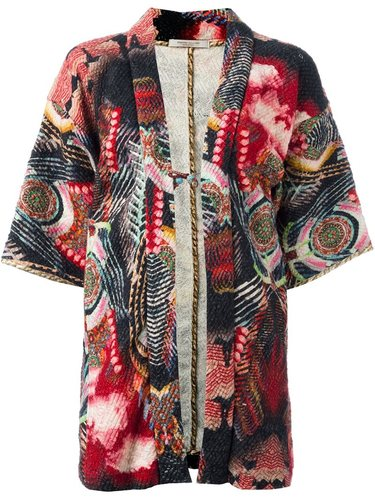 floral print kimono Ermanno Gallamini