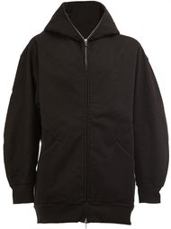 zipped neck hooded jacket The Soloist