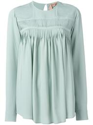 блузка со складками Nº21