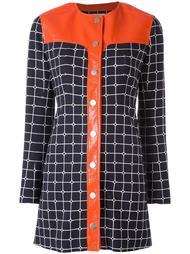 платье-рубашка 'Grid' Courrèges