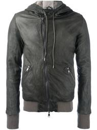 hooded zipped jacket Giorgio Brato