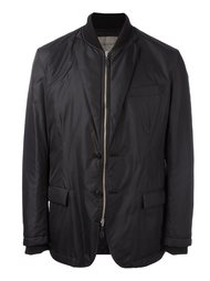 ribbed neck bomber jacket Casely-Hayford