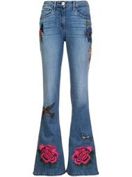 embroidered flared jeans 3X1