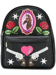 мини-рюкзак с заплатками Manish Arora