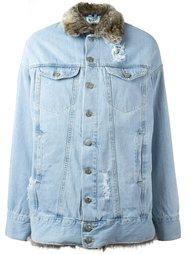 джинсовая куртка свободного кроя Misbhv