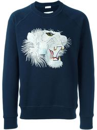 толстовка с вышивкой тигра  Marc Jacobs