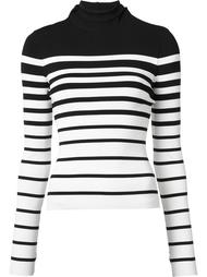 high neck striped sweater Monse