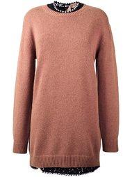 длинный пуловер Nº21