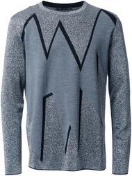 жаккардовый свитер  Christopher Kane