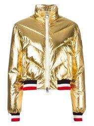 дутая куртка с эффектом металлик Rossignol