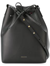 two-tone bucket shoulder bag Mansur Gavriel