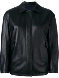 двусторонняя кожаная куртка Jil Sander