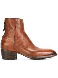 текстурированные ботинки на молнии Raparo