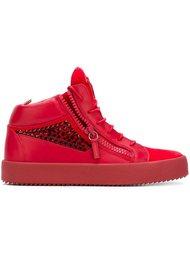 декорированные кроссовки Giuseppe Zanotti Design