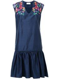 платье с оборкой Megan Park