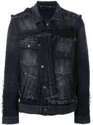деконструированная джинсовая куртка Miharayasuhiro