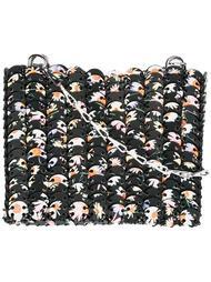 сумка на плечо с эффектом кольчуги Paco Rabanne