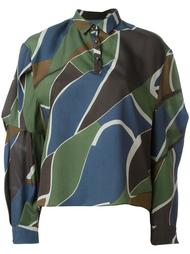 abstract print shirt Kolor