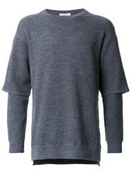 многослойный пуловер monkey time