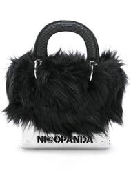сумка-тоут из искусственного меха Nicopanda