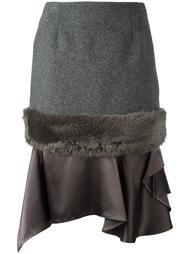 юбка с панельным дизайном Kolor