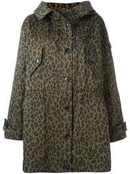 пальто с леопардовым принтом Iro