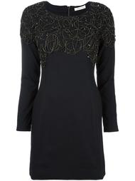 embellished panel fitted dress Pierre Balmain