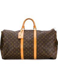 дорожная сумка с монограммным принтом Louis Vuitton Vintage